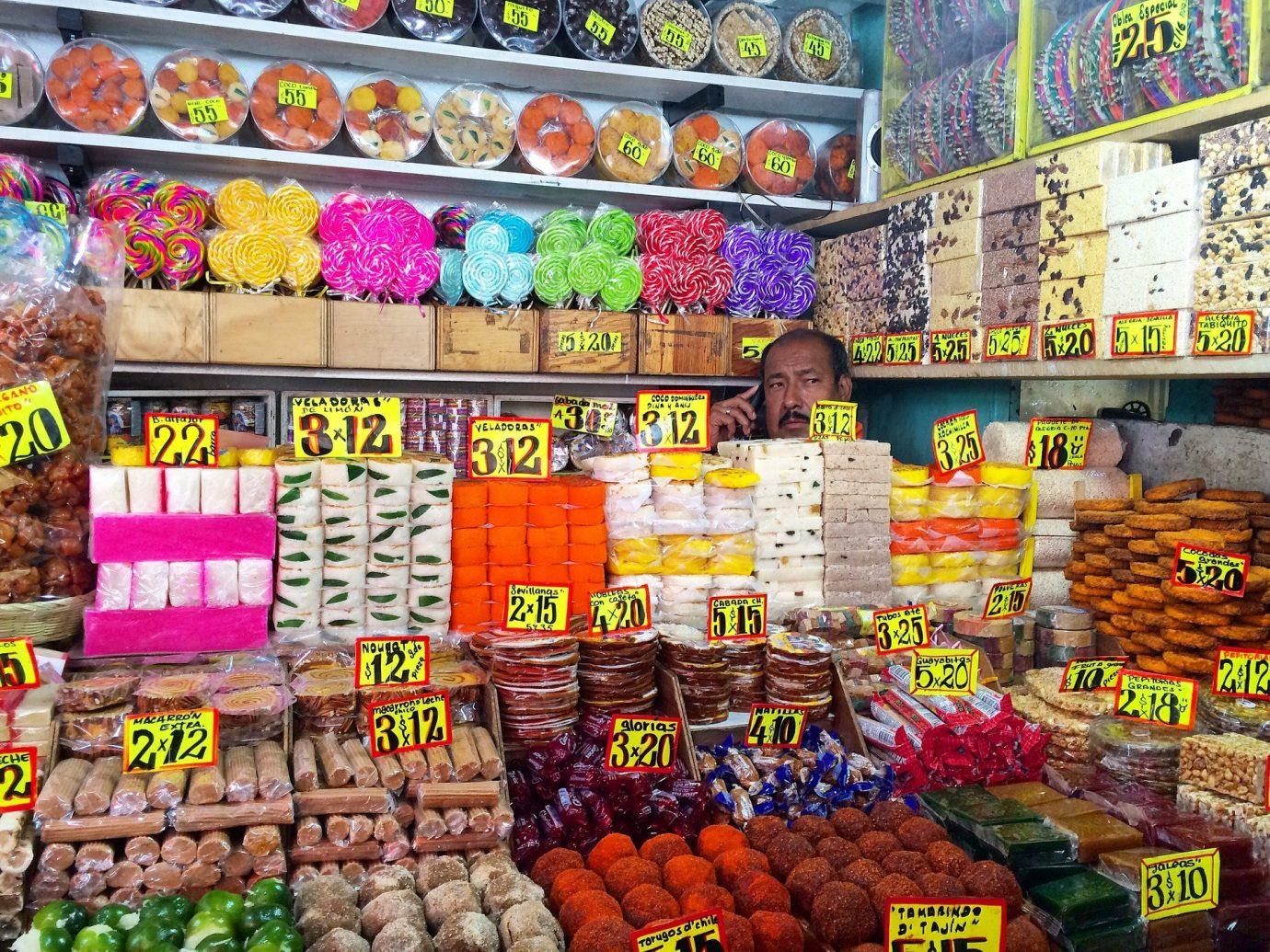food Food + Drink Jetsetter Guides local man market markets people shopping Shops spices store marketplace grocery store supermarket City public space greengrocer retail human settlement convenience store vendor whole food bazaar convenience food many colorful bunch different several can variety