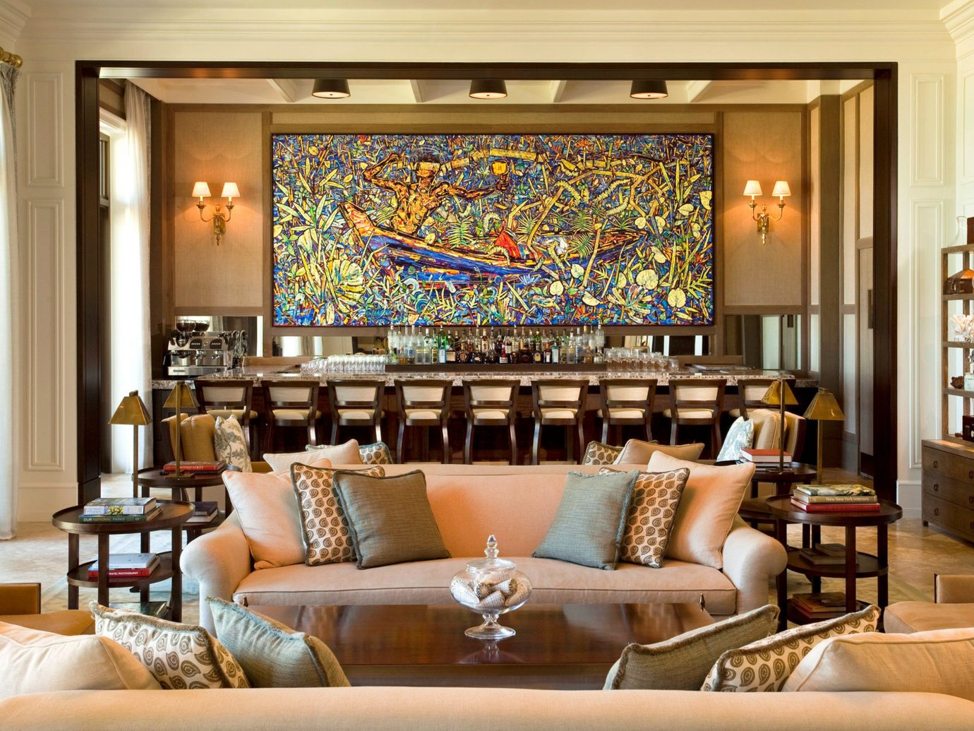 Bar Design Drink Hotels Lounge Luxury Resort indoor room Living floor wall window chair living room property Lobby ceiling estate interior design home decorated dining room furniture restaurant nice Suite area