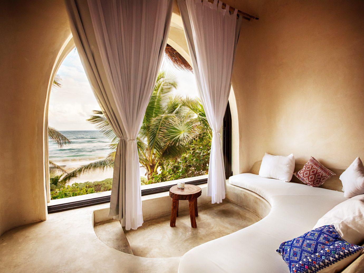 Eco Hotels Island Living Villa indoor wall room property bed hotel estate Resort Suite interior design Bedroom furniture decorated