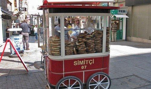 Jetsetter Guides ground outdoor vehicle red cart transport vendor street food kiosk food