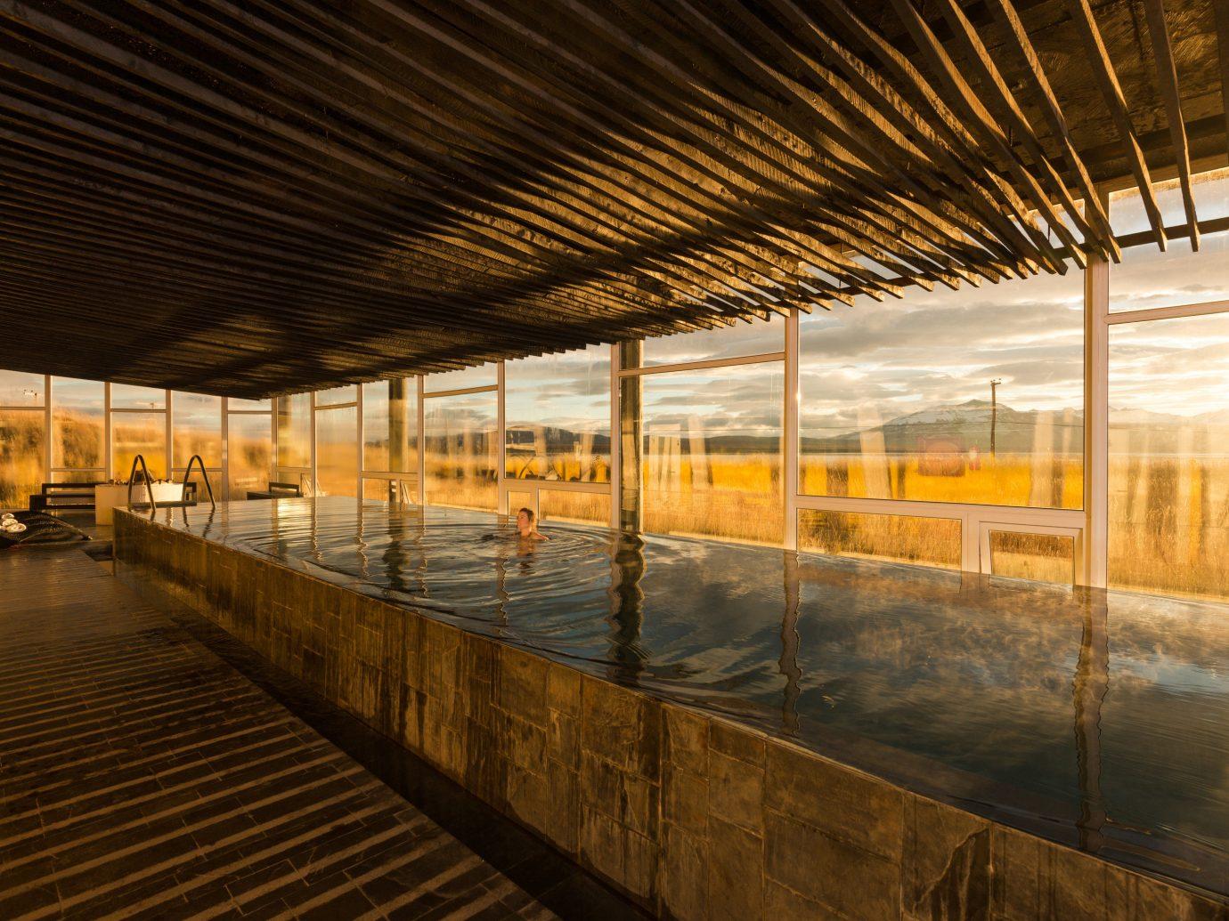 Hotels outdoor transport structure pier building Architecture wood interior design platform subway