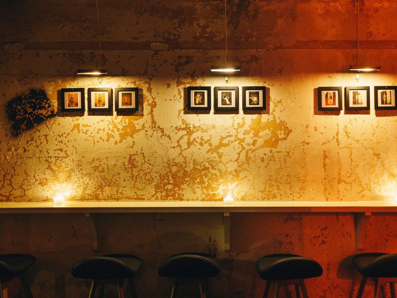 Jetsetter Guides Road Trips indoor light wall night restaurant Bar lighting