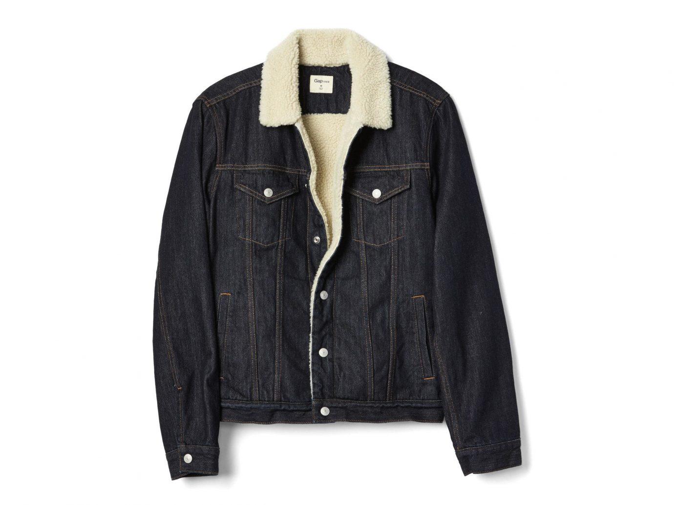 Travel Shop Travel Tips clothing jacket suit wearing black denim leather jacket sleeve product leather pocket coat