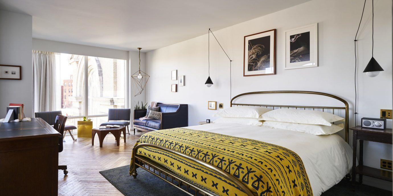 Style + Design Travel Shop indoor wall floor ceiling room bed property Bedroom interior design Suite bed frame real estate furniture hotel estate