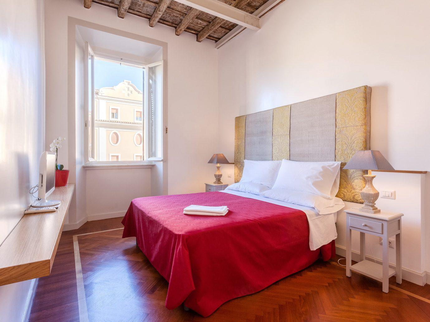 Bedroom charming cozy homey Hotels quaint view floor indoor wall room bed interior design Villa