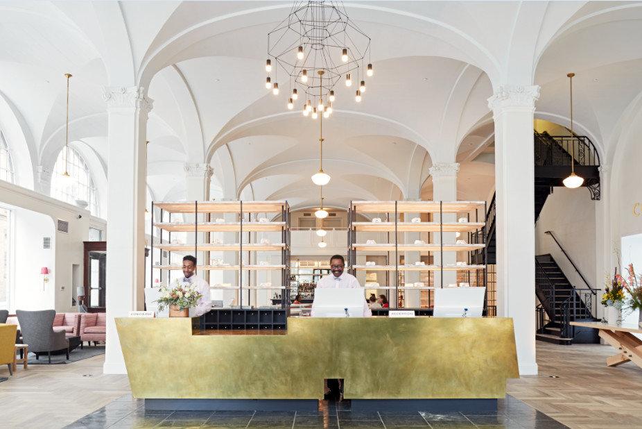 Trip Ideas indoor floor Lobby room building Architecture estate interior design ceiling furniture