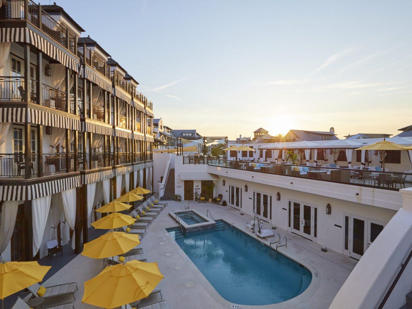 Beach sky outdoor property Resort marina vacation dock estate palace vehicle apartment Deck