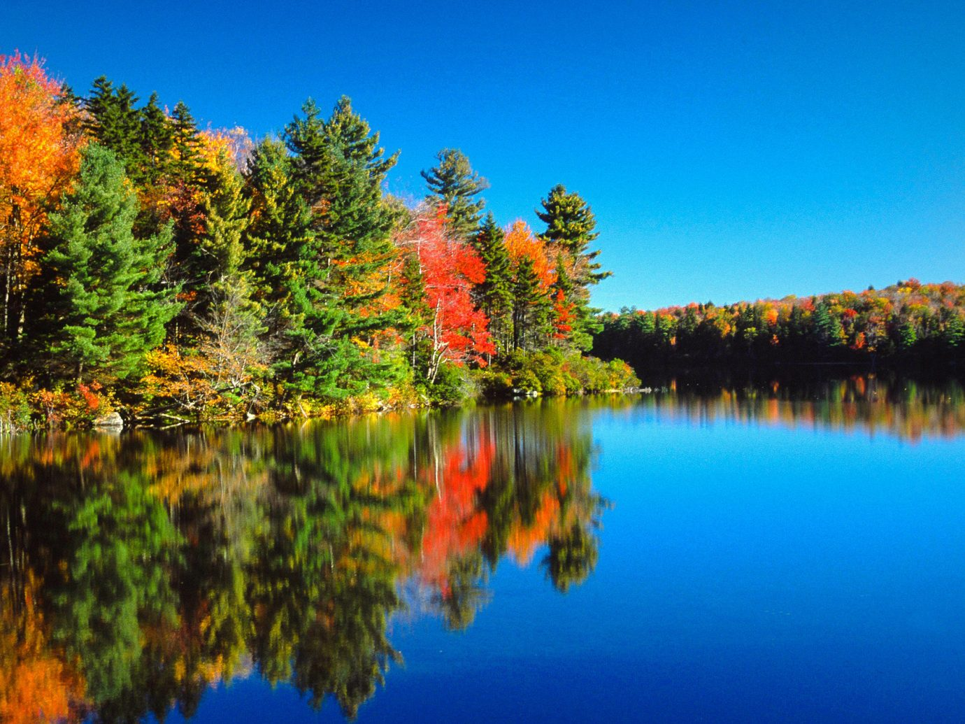 Trip Ideas water tree sky reflection Nature leaf Lake outdoor wilderness autumn River pond reservoir biome mount scenery landscape bank larch temperate broadleaf and mixed forest evening computer wallpaper calm Forest wetland surrounded