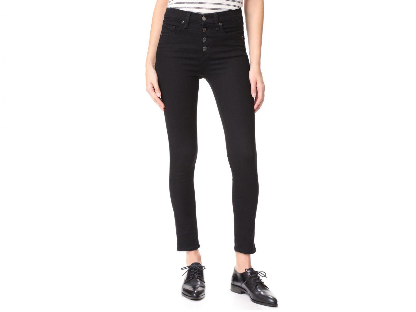 Influencers + Tastemakers Travel Shop Trip Ideas clothing trouser jeans waist denim joint leggings trousers active pants tights human leg abdomen trunk fashion model pocket