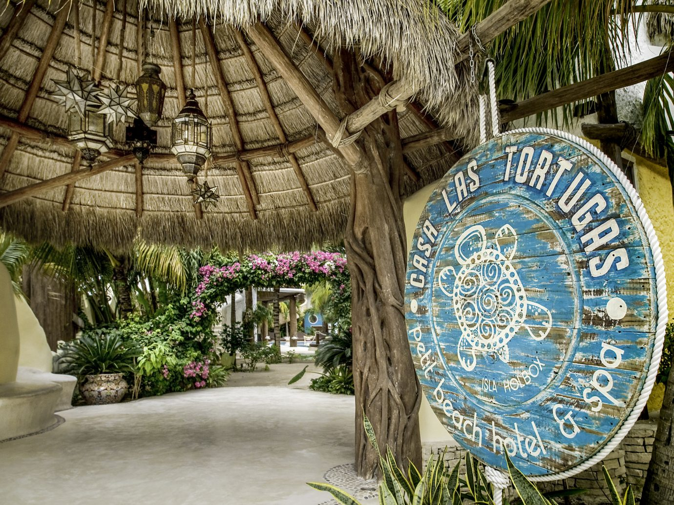 Beach Honeymoon Hotels Mexico Romance Tulum plant flora tree arecales outdoor structure palm tree flower tourism