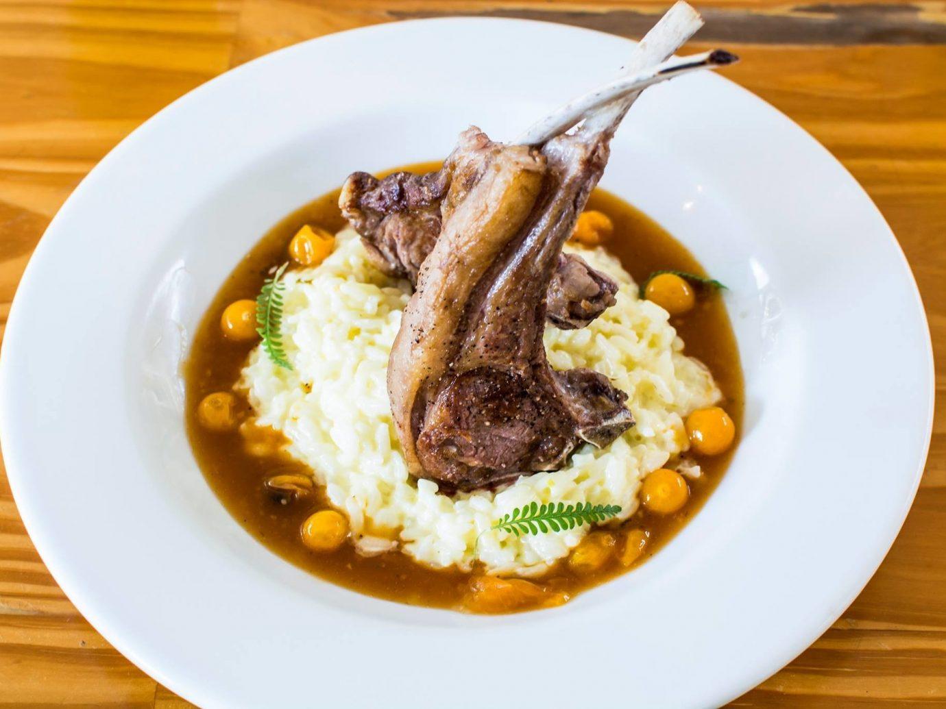 Food + Drink Trip Ideas plate food table dish cuisine white vegetarian food stew recipe meat meal piece de resistance