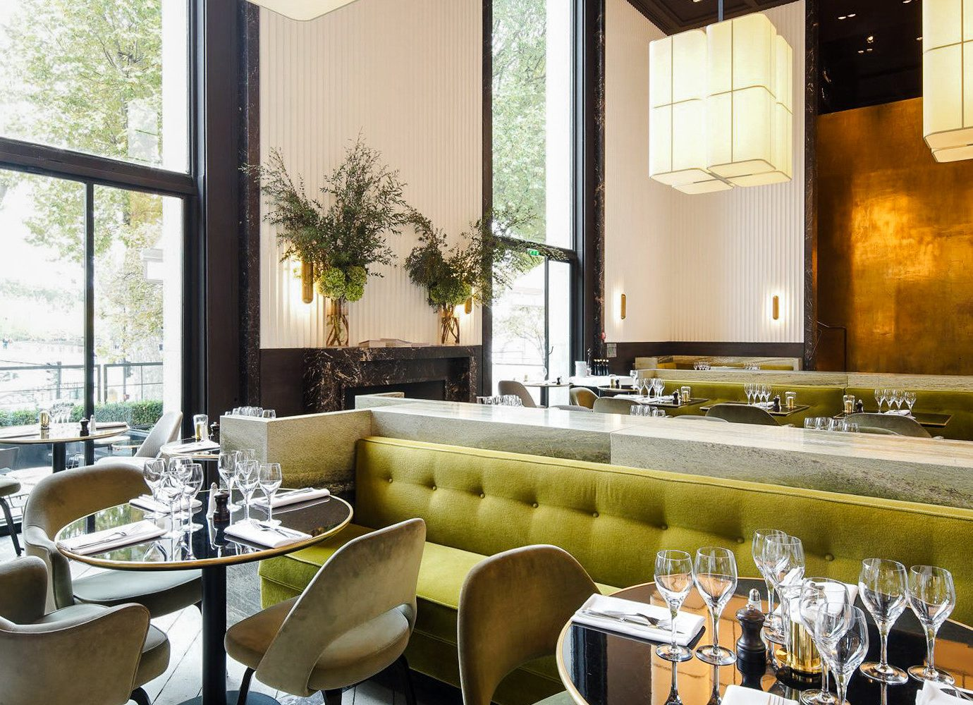 Food + Drink Romance window table indoor interior design restaurant real estate living room furniture