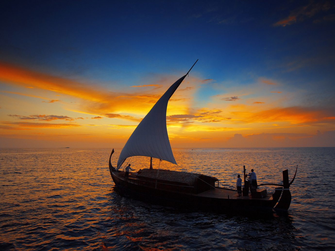 Boat calm isolation Luxury Ocean orange sky people private remote Romance Romantic sailboat serene silhouette Sunset Trip Ideas water sky outdoor transport watercraft Sea horizon sunrise vehicle evening cloud dusk morning Coast dawn sailing vessel Beach sail bay sunlight wave sailing ship distance