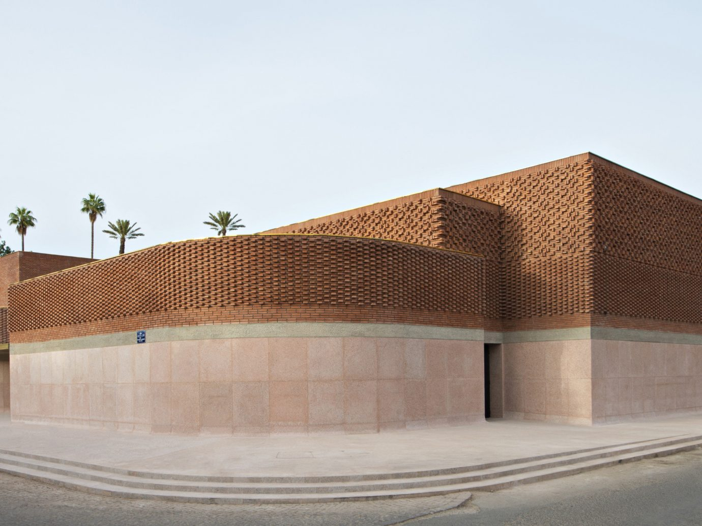 Arts + Culture Marrakech Morocco Style + Design sky outdoor road Architecture wall residential area building facade house