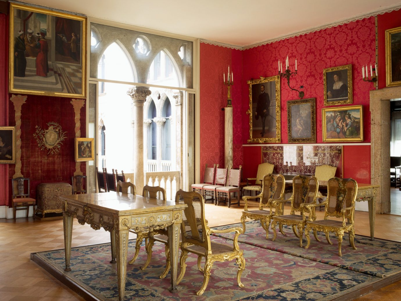 Interior of Isabella Stewart Gallery