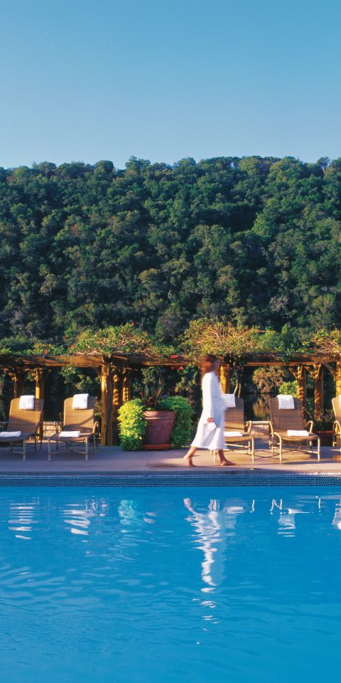 Hotels tree water outdoor swimming pool leisure Resort vacation Pool estate Lake resort town Sea bay palace Lagoon swimming