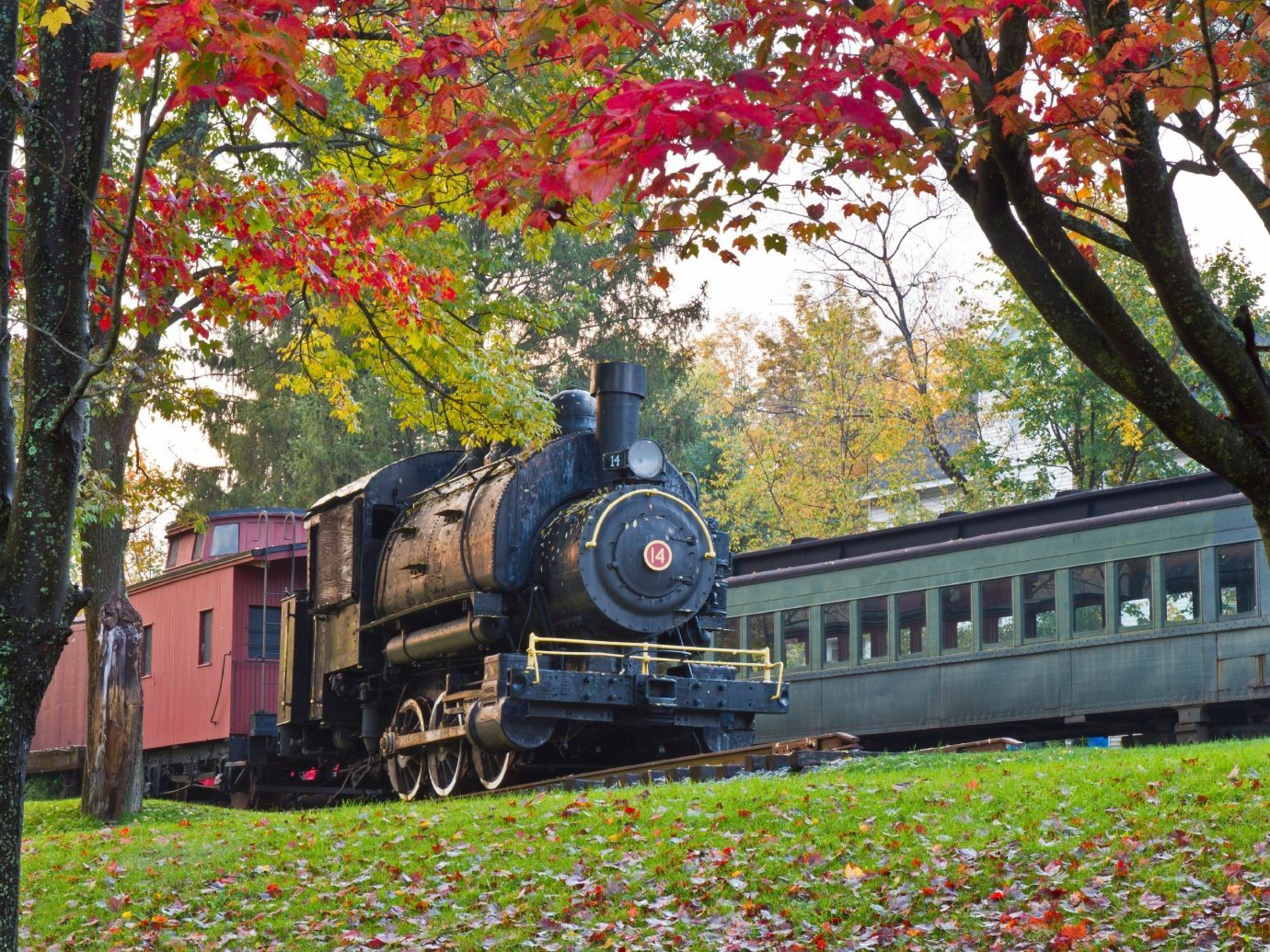 A Train in Arkville New York