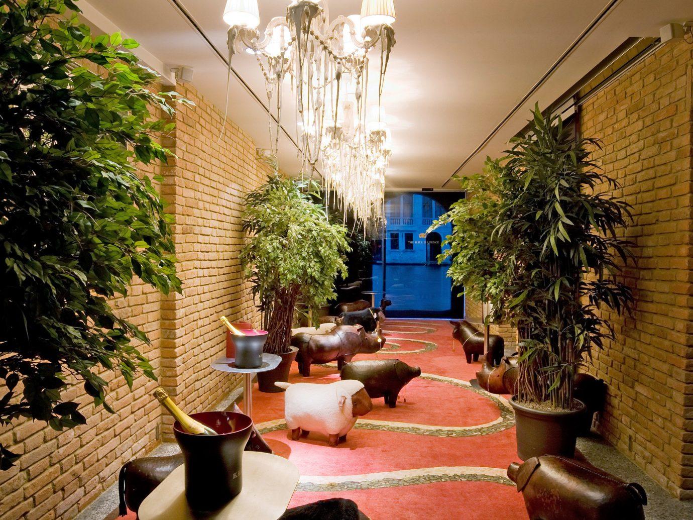 City Hip Hotels Luxury indoor room Lobby estate restaurant home interior design backyard lighting Courtyard rug Design living room hacienda flower furniture
