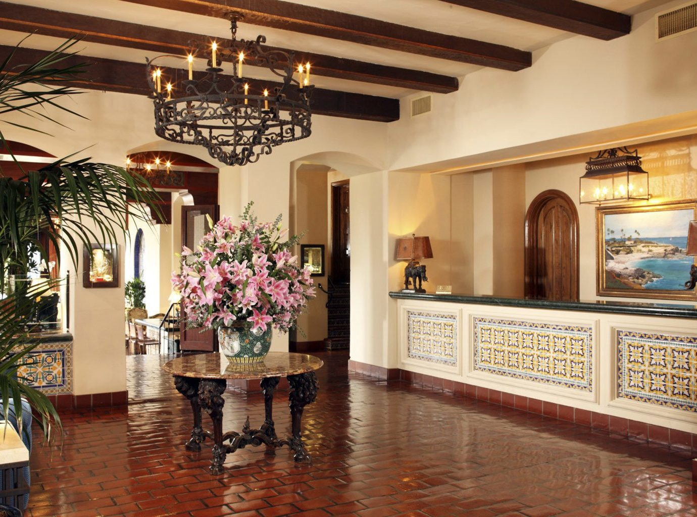 Elegant Hotels Lobby Luxury indoor floor room estate ceiling floristry home interior design mansion aisle Boutique hall several