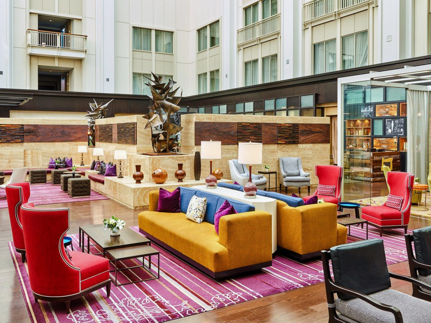 Boutique Hotels Food + Drink Hotels Luxury Travel Style + Design Trip Ideas Weekend Getaways building living room interior design furniture Lobby loft