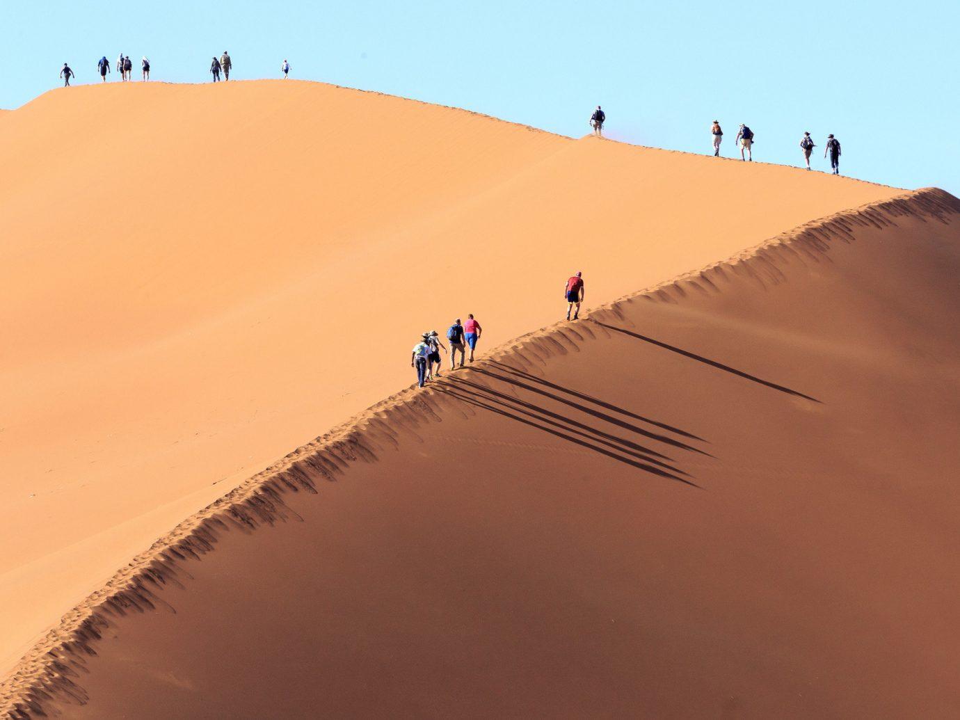 Trip Ideas sky dune Nature habitat erg outdoor natural environment geographical feature landform aeolian landform sand sahara landscape Desert material wadi