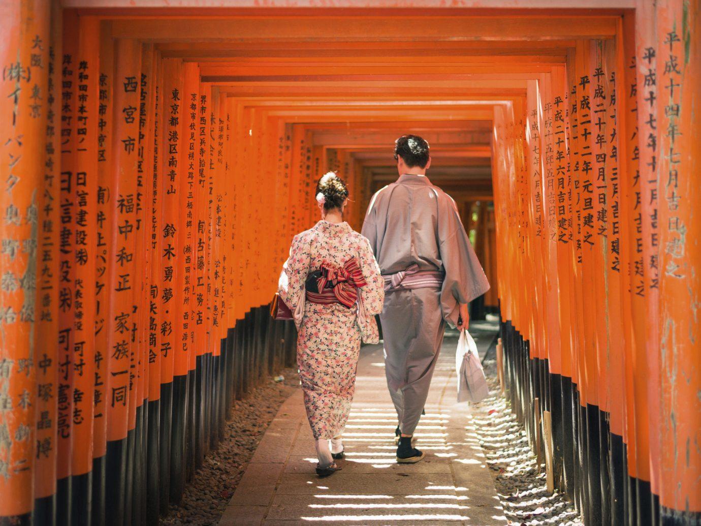Jetsetter Guides Trip Ideas orange temple aisle