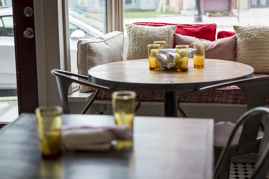 Food + Drink table indoor window room furniture living room dining room home interior design Dining restaurant dining table