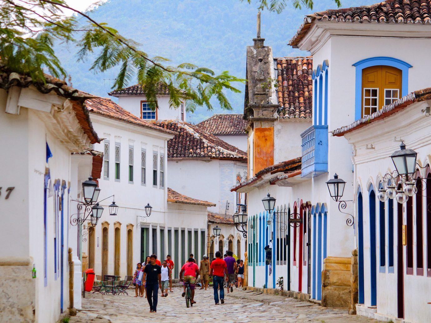 Beaches Brazil Trip Ideas building outdoor Town neighbourhood tourism facade street house City sky historic site window hacienda Village