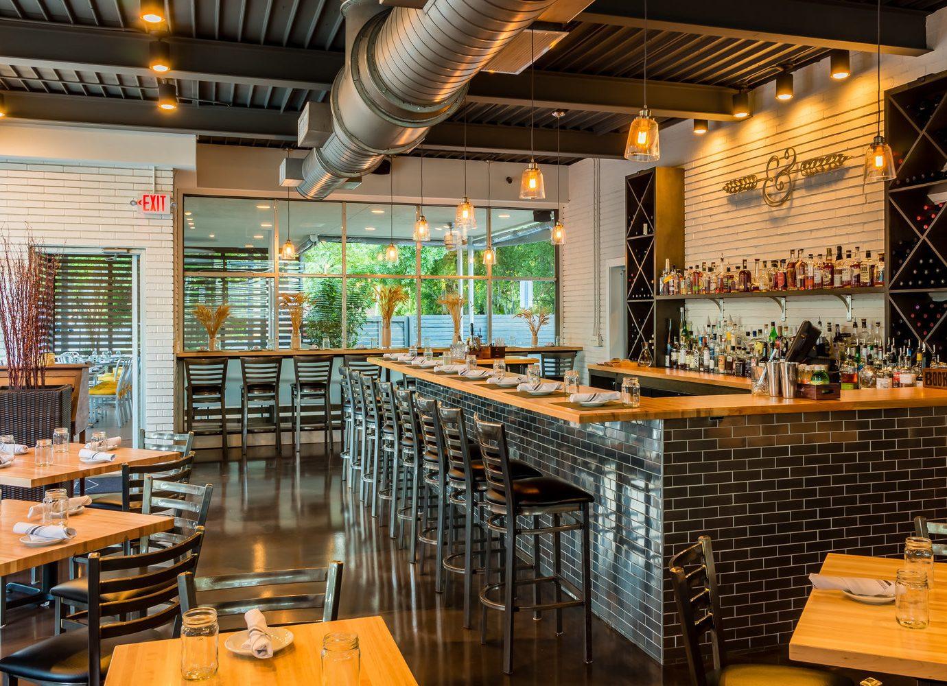 Food + Drink indoor ceiling restaurant interior design café