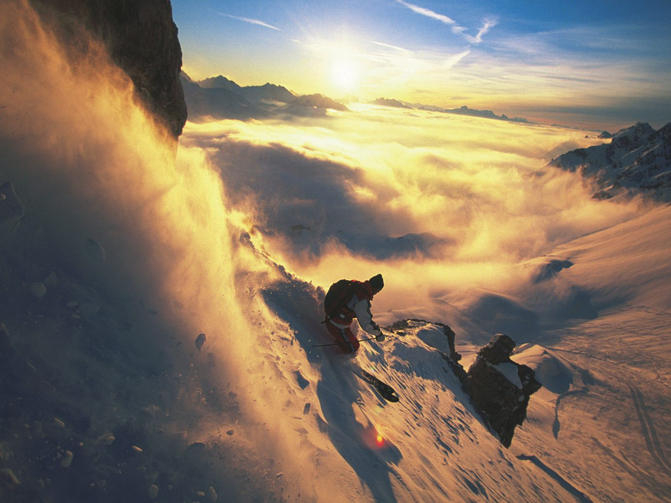 alpine skiing clouds europe mist Mountains Mountains + Skiing Nature orange sky Outdoor Activities Outdoors people snow snow capped Mountains snowboarding sunlight Sunset Trip Ideas Winter sky outdoor mountainous landforms cloud mountain atmospheric phenomenon sunrise atmosphere horizon dawn morning atmosphere of earth hill Sun mountain range evening dusk wave meteorological phenomenon day