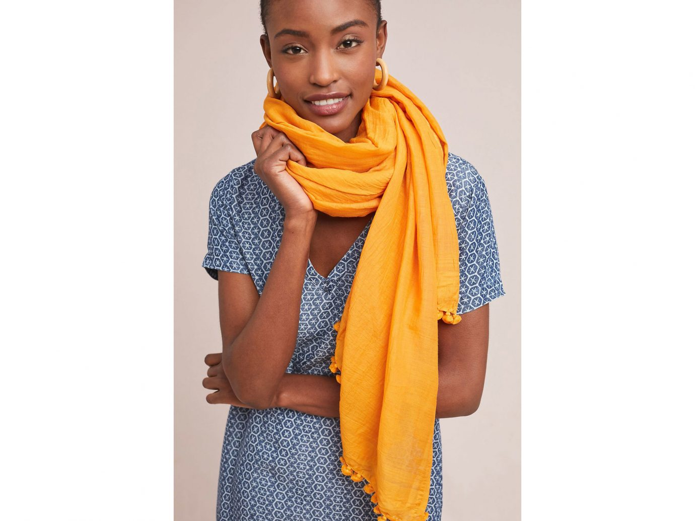 Morocco Packing Tips Style + Design Travel Shop person clothing yellow scarf stole orange colored