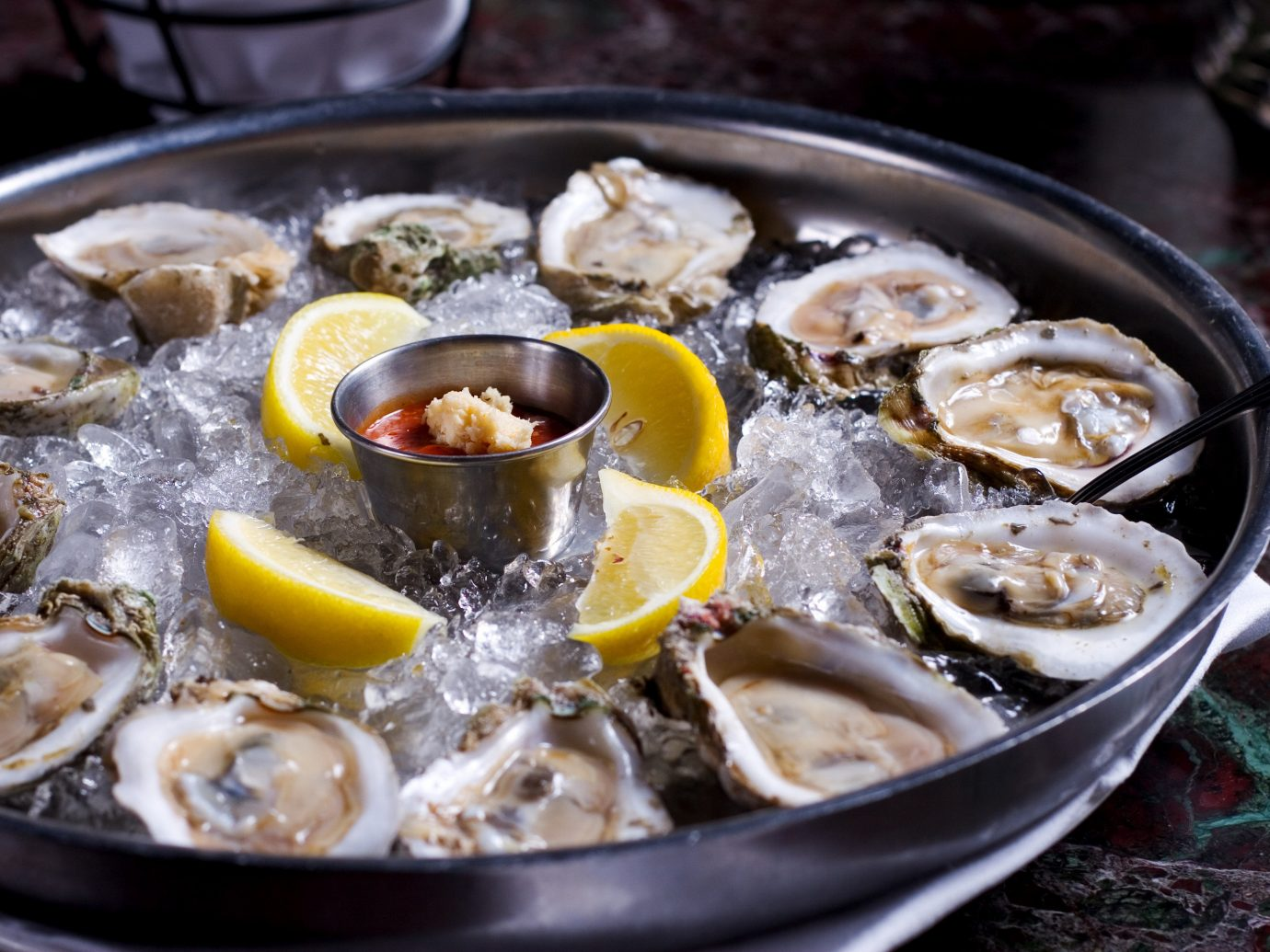 Food + Drink food oyster Seafood clams oysters mussels and scallops dish animal source foods clam meal recipe pan