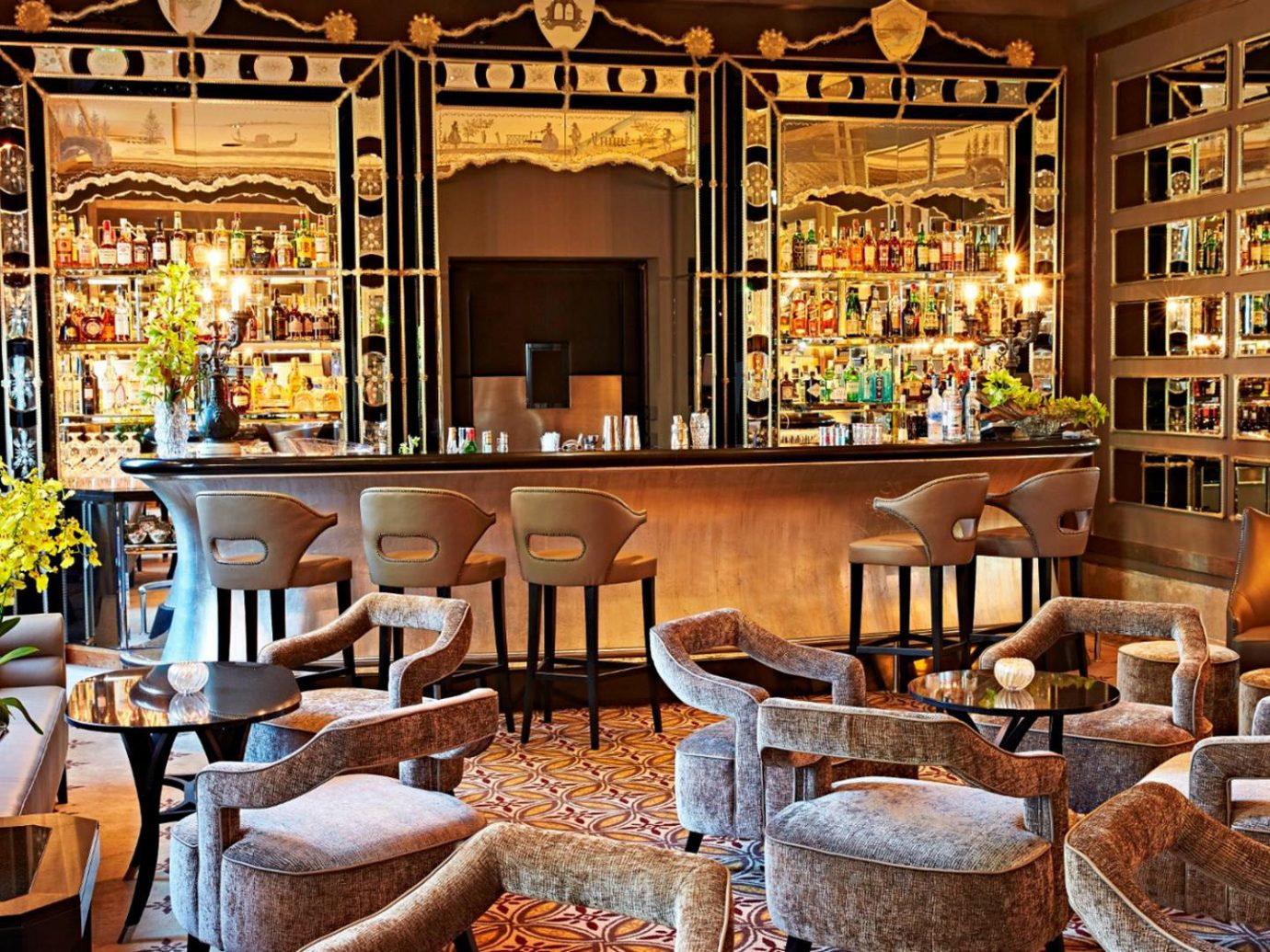 Hotels Italy Luxury Travel Venice chair Dining Bar meal restaurant interior design café estate furniture