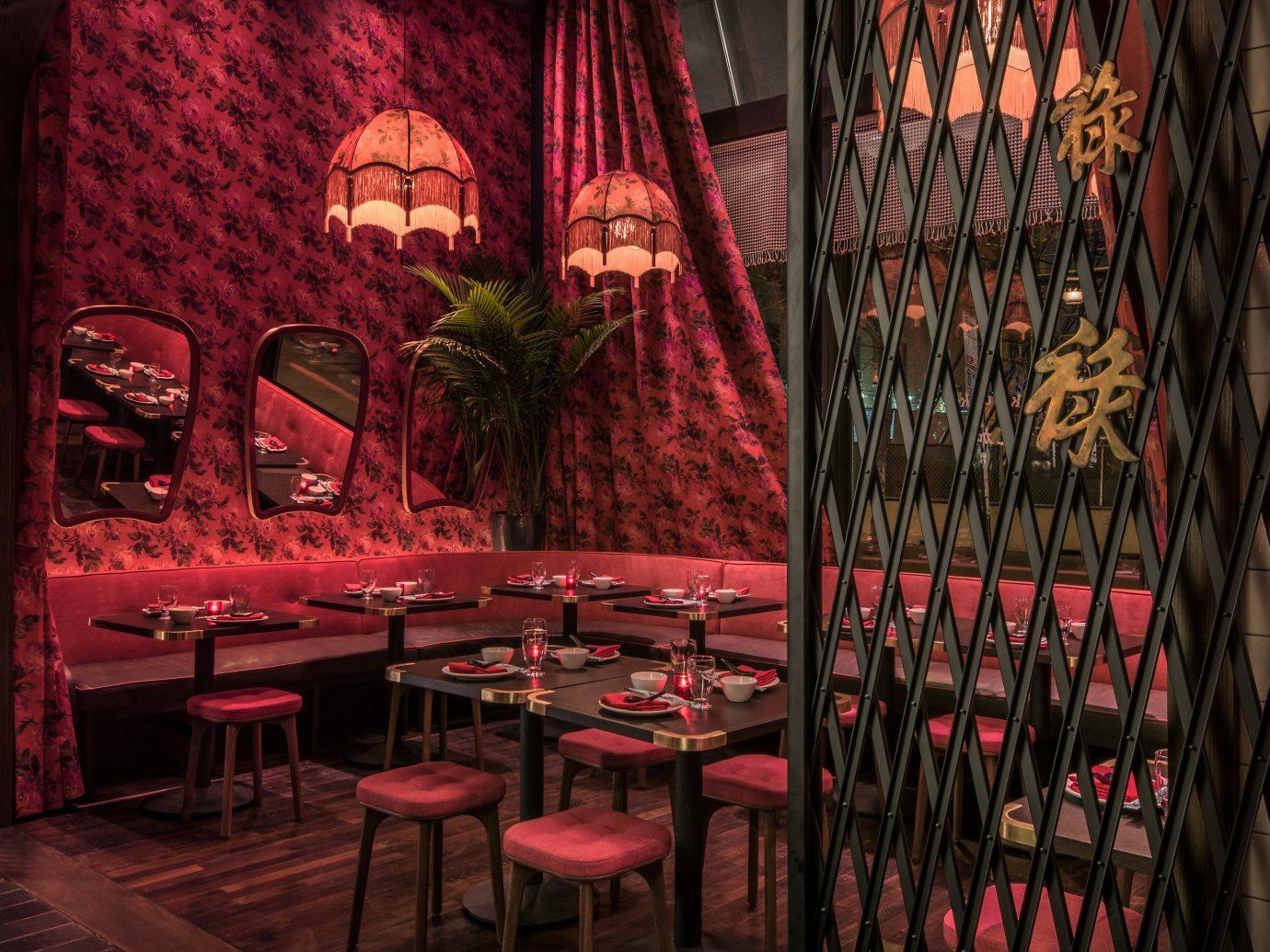 Trip Ideas red restaurant Bar interior design