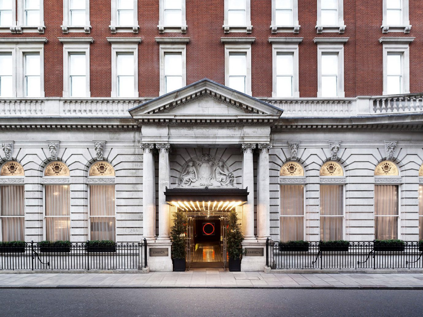 Architecture Boutique Hotels Buildings Exterior Historic London Romantic Hotels building outdoor facade palace government building tourist attraction synagogue tall stone
