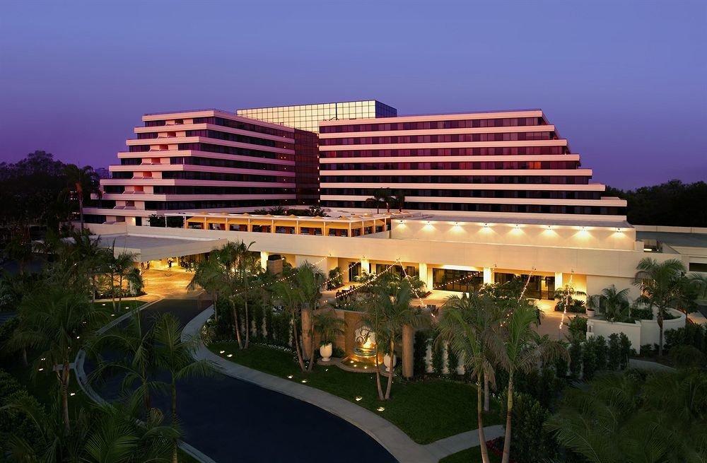 sky building landmark Resort plaza condominium convention center stadium day