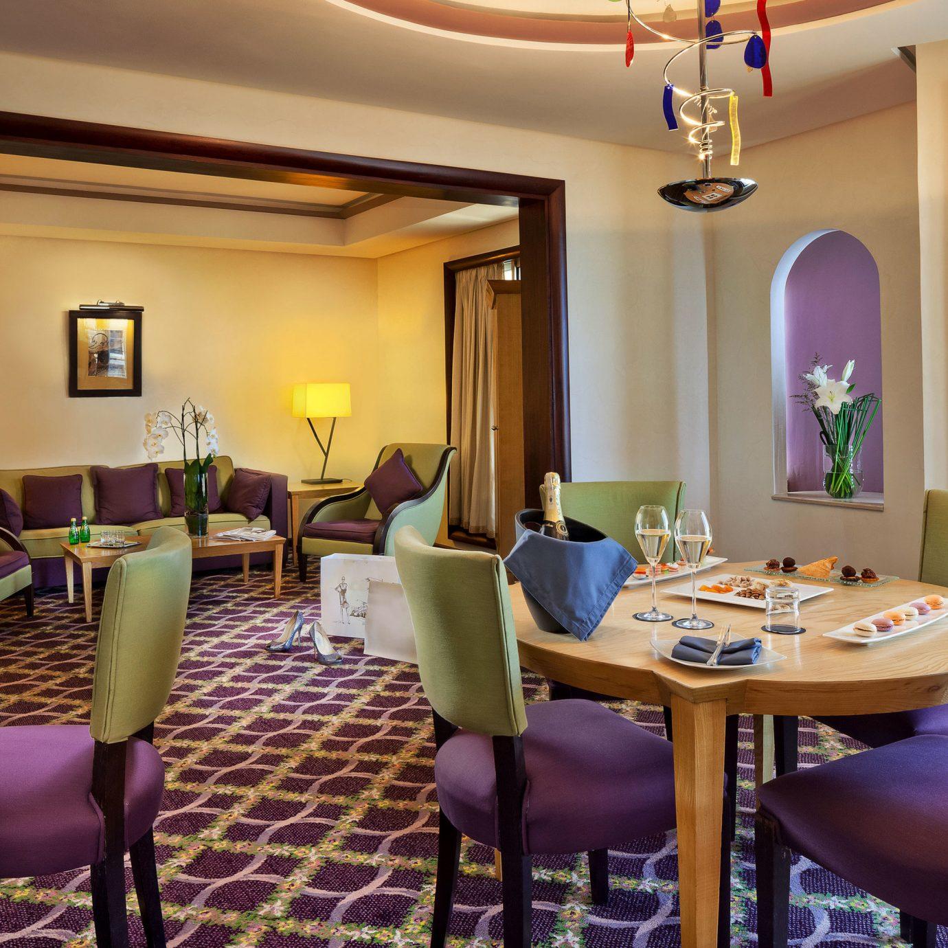 property chair Suite living room Resort home condominium set
