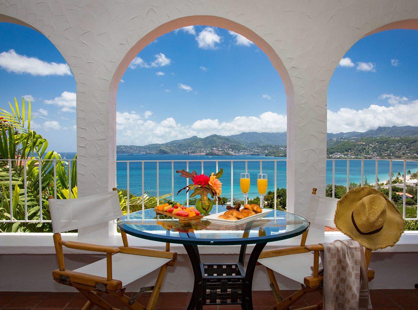 leisure property swimming pool Resort home Villa caribbean hacienda arch colonnade