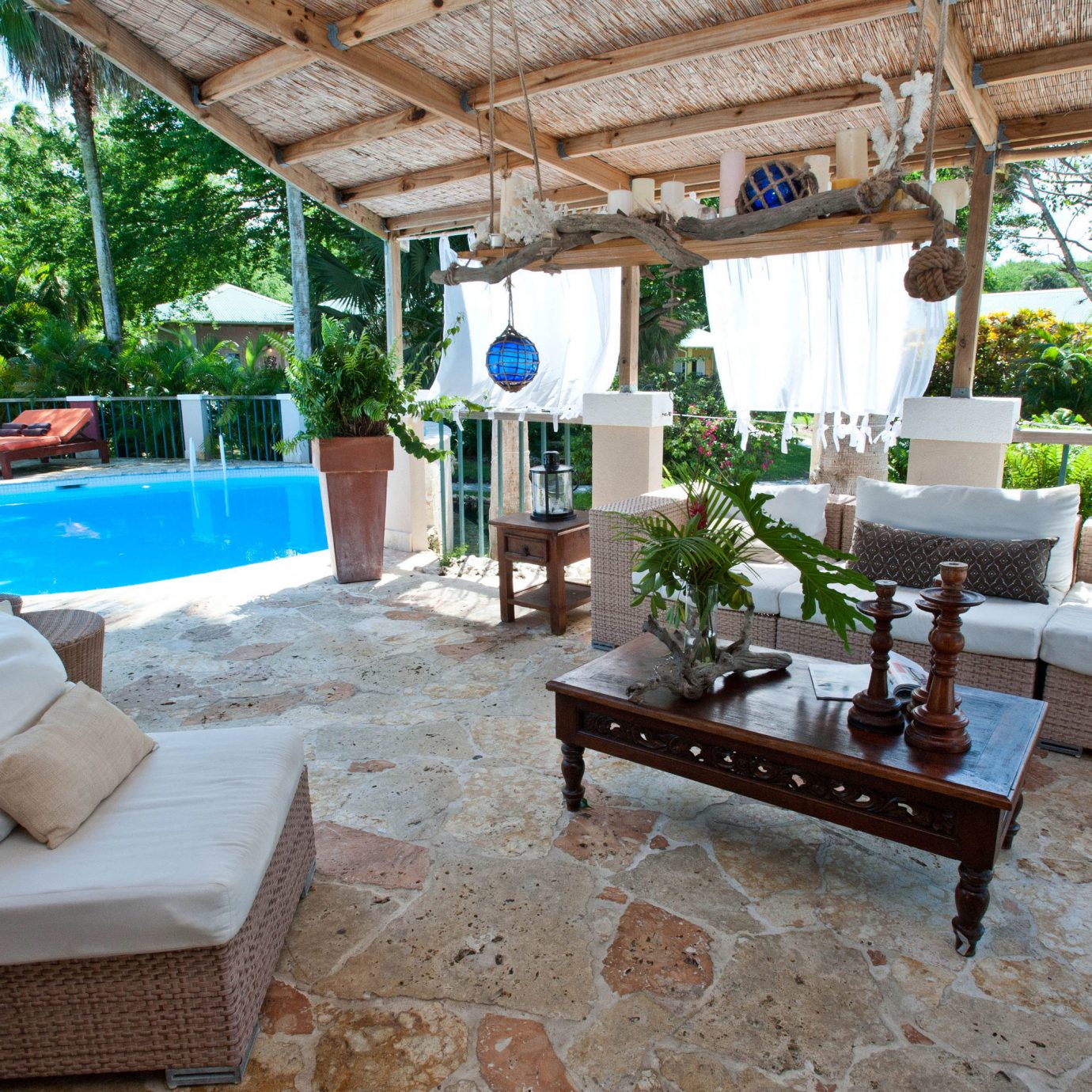 property Villa Resort swimming pool cottage home backyard hacienda living room mansion farmhouse eco hotel