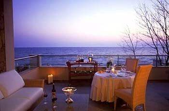 sky property Resort yacht restaurant Villa overlooking