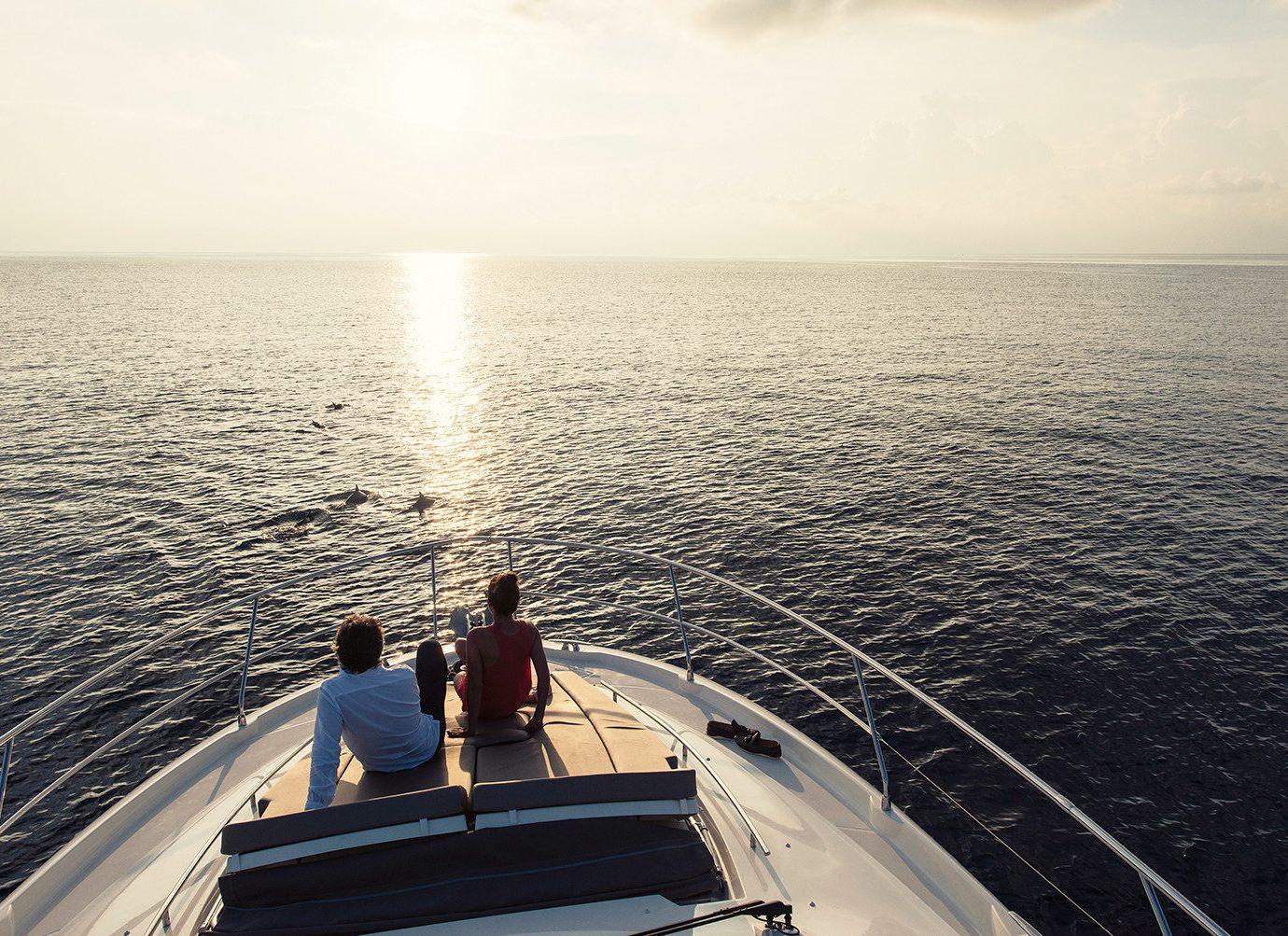 Luxury Travel Trip Ideas water outdoor sky Boat vehicle passenger ship Sea horizon yacht sailing luxury yacht Ocean ship watercraft