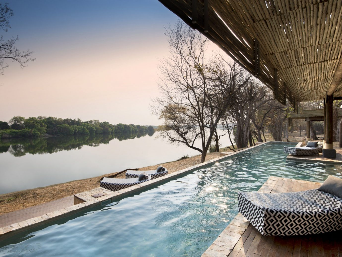 Luxury Travel Trip Ideas sky water outdoor leisure swimming pool vacation estate morning reflection Sea