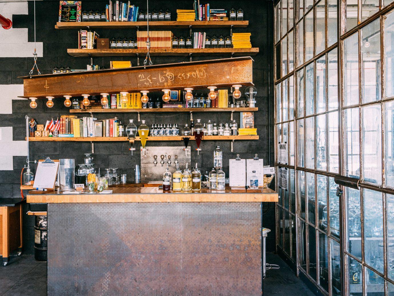 Brooklyn Food + Drink furniture interior design restaurant liquor store