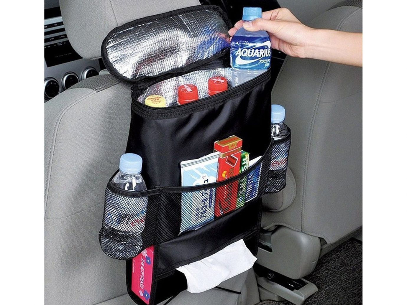 Packing Tips Road Trips Travel Safety Travel Tips person product vehicle car bag car seat cover car seat product design items