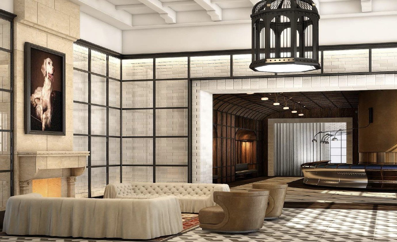 Jetsetter Guides indoor window room Lobby living room Architecture interior design home estate lighting furniture Design mansion ceiling window covering