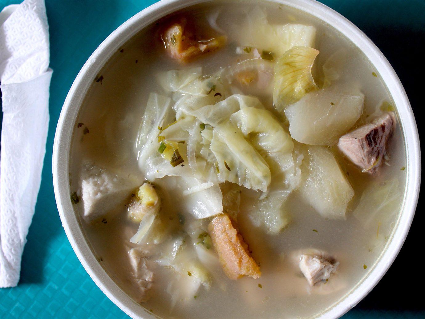Trip Ideas food dish bowl plate soup clam chowder cuisine produce vegetable