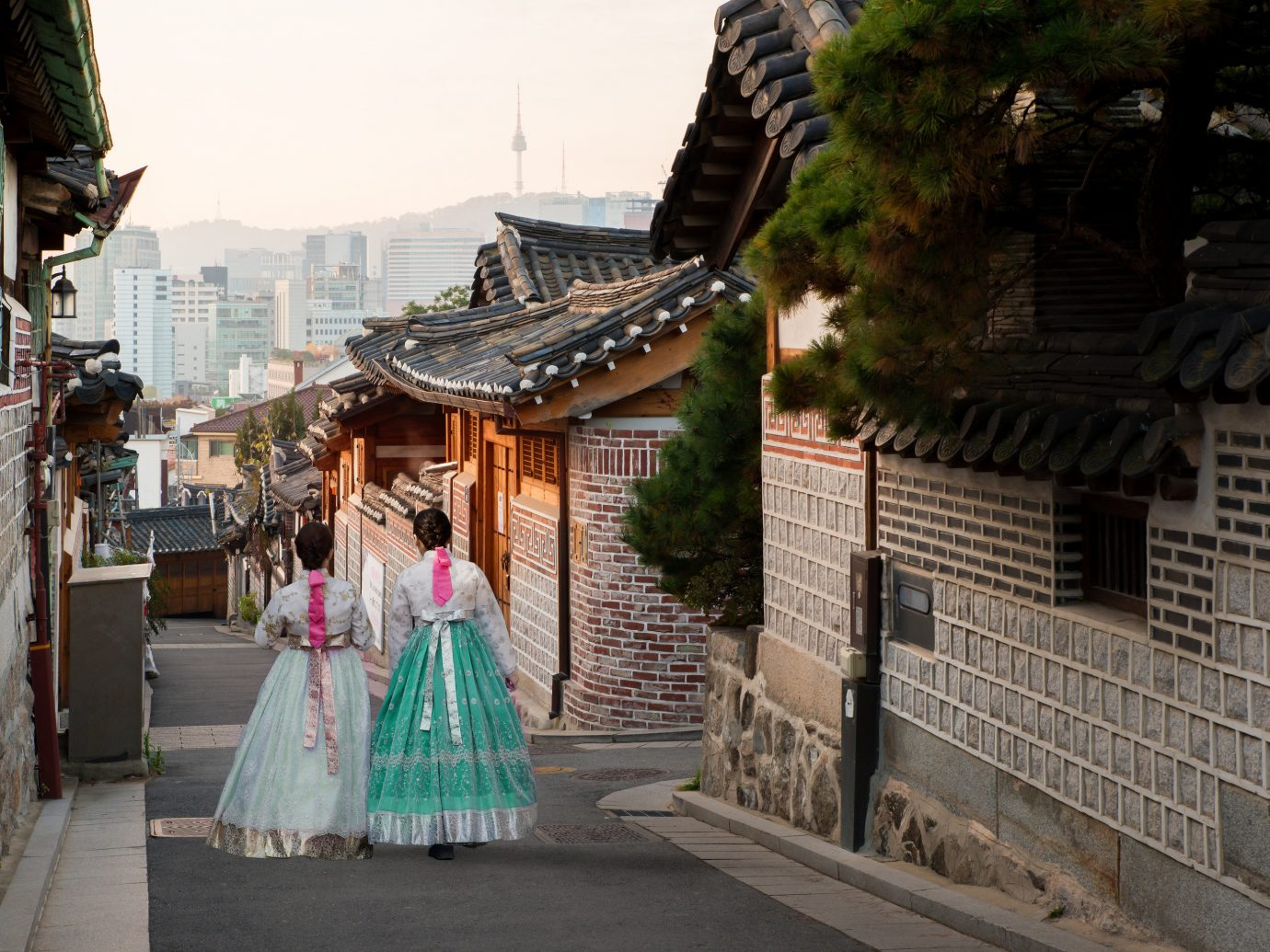 Seoul Trip Ideas infrastructure road temple street tourism City travel building tree vacation