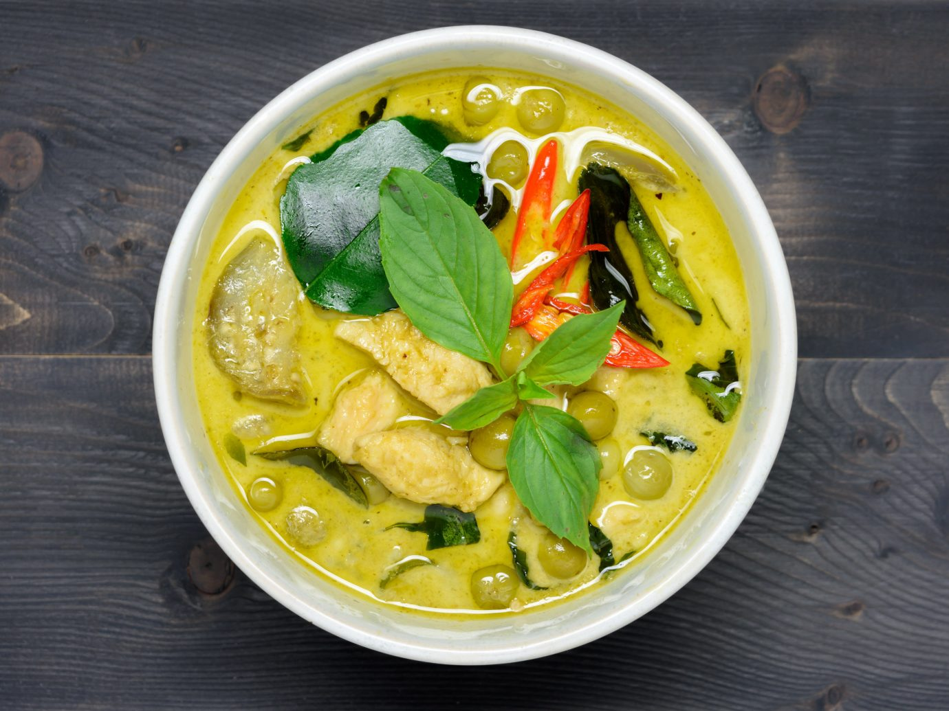 Jetsetter Guides food dish plate curry produce cuisine fish soup vegetable asian food meal vegetarian food flowering plant different