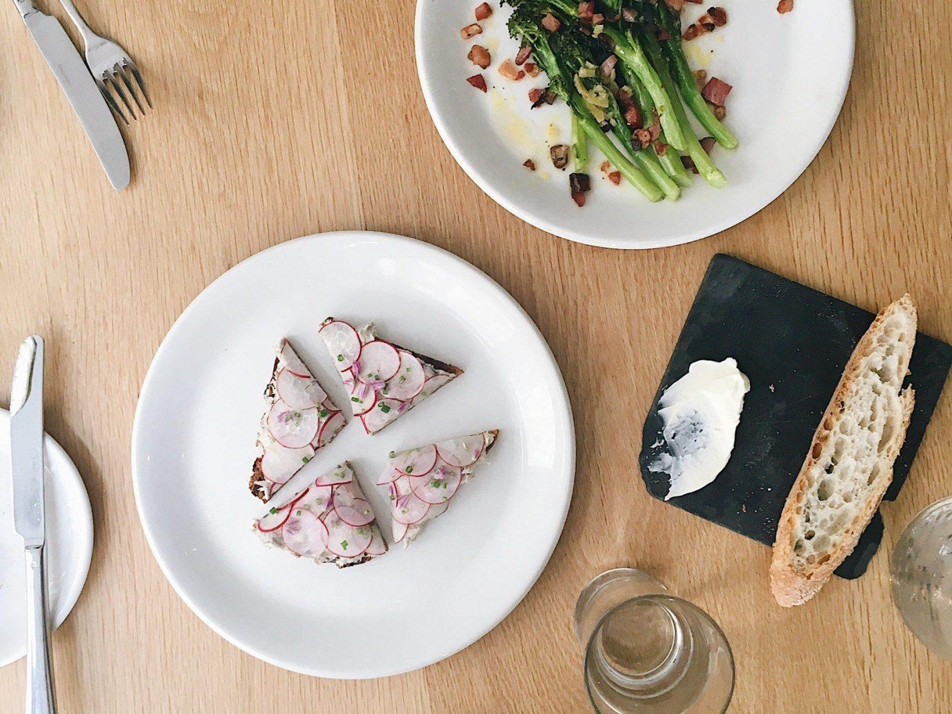 Food + Drink cutlery dishware plate tableware platter fork dish recipe serveware porcelain food spoon