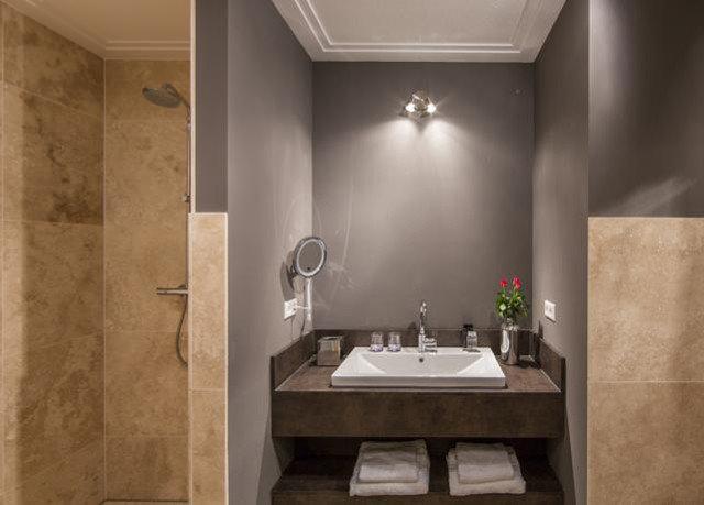 bathroom plumbing fixture sink Suite toilet flooring